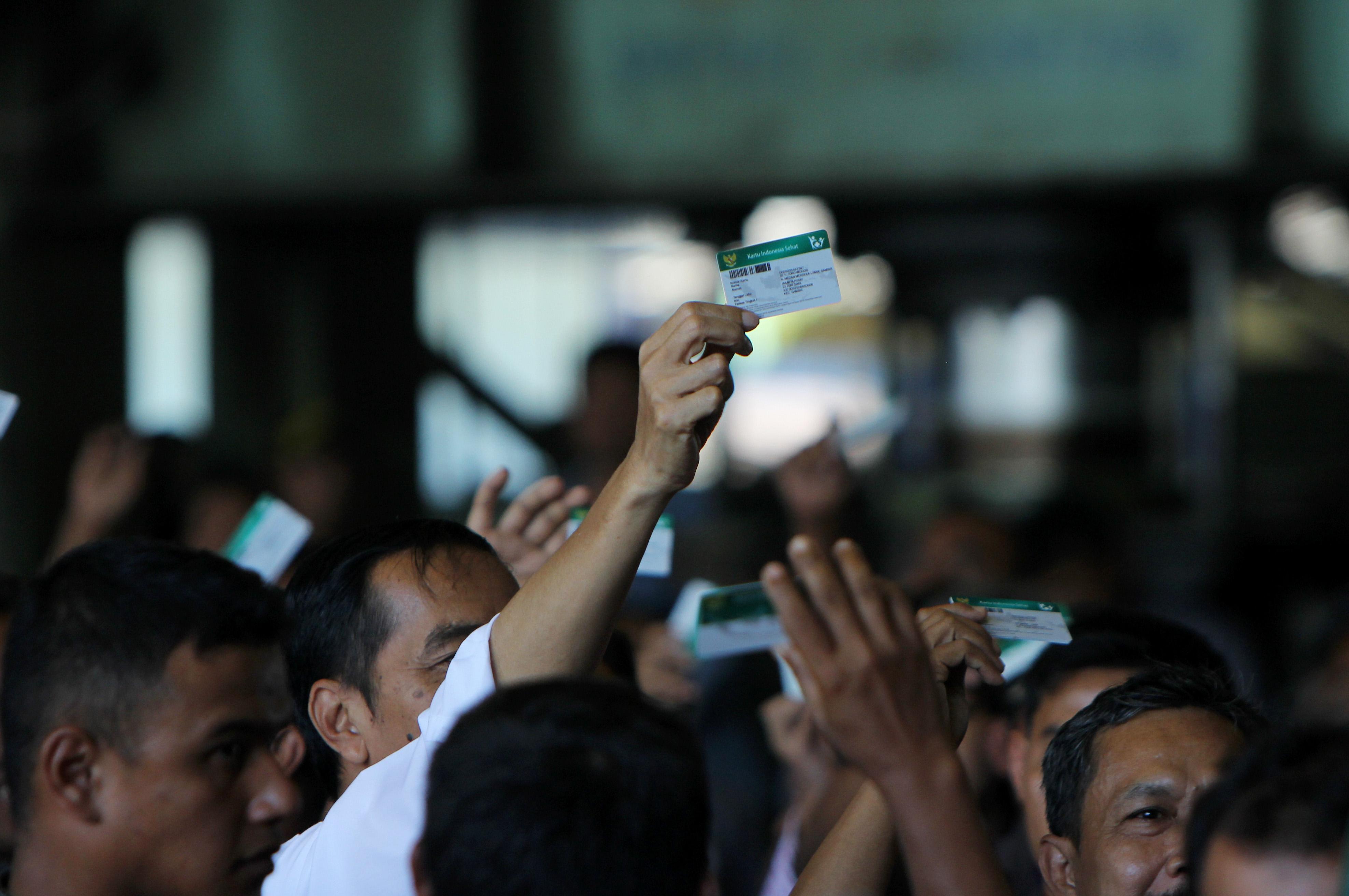 Penyerahan Kartu Indonesia Sehat 28 April 2015