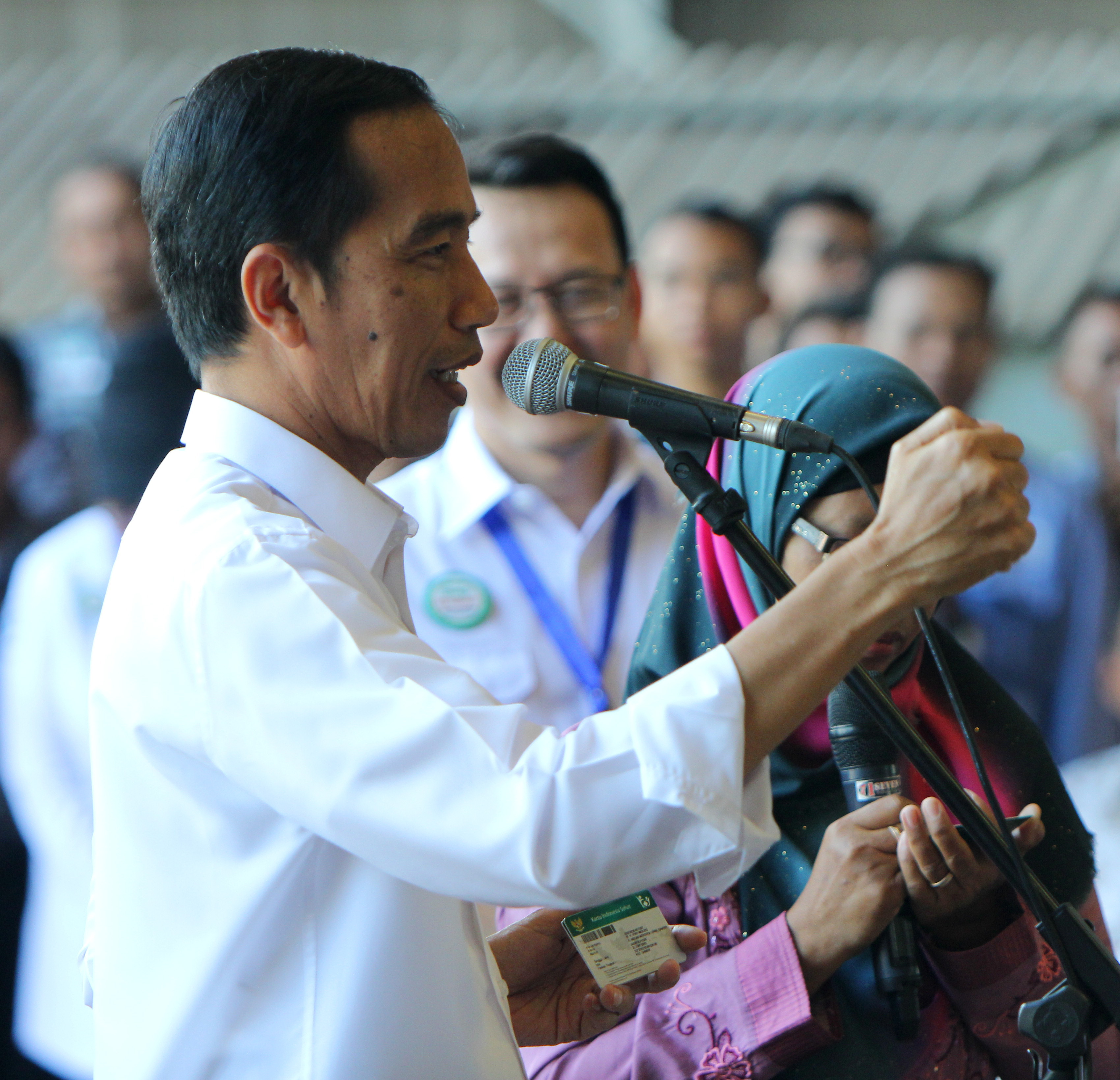 Presiden Jokowi dan Istri juga mendapatkan Kartu Indonesia Sehat