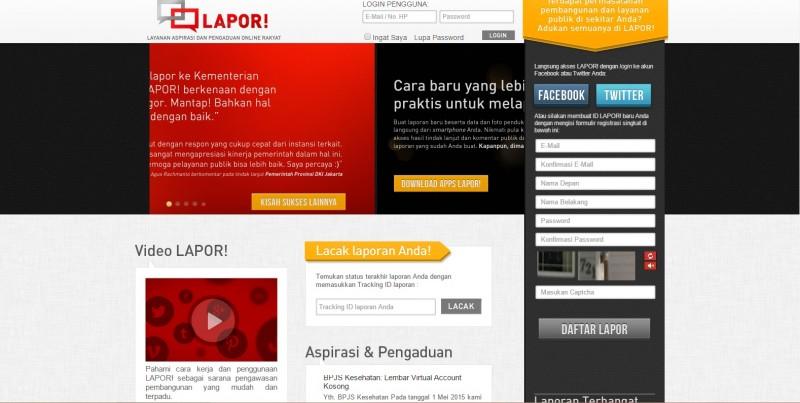 Masyarakat Dapat Mendukung Program Pemerintah Lewat Aplikasi LAPOR